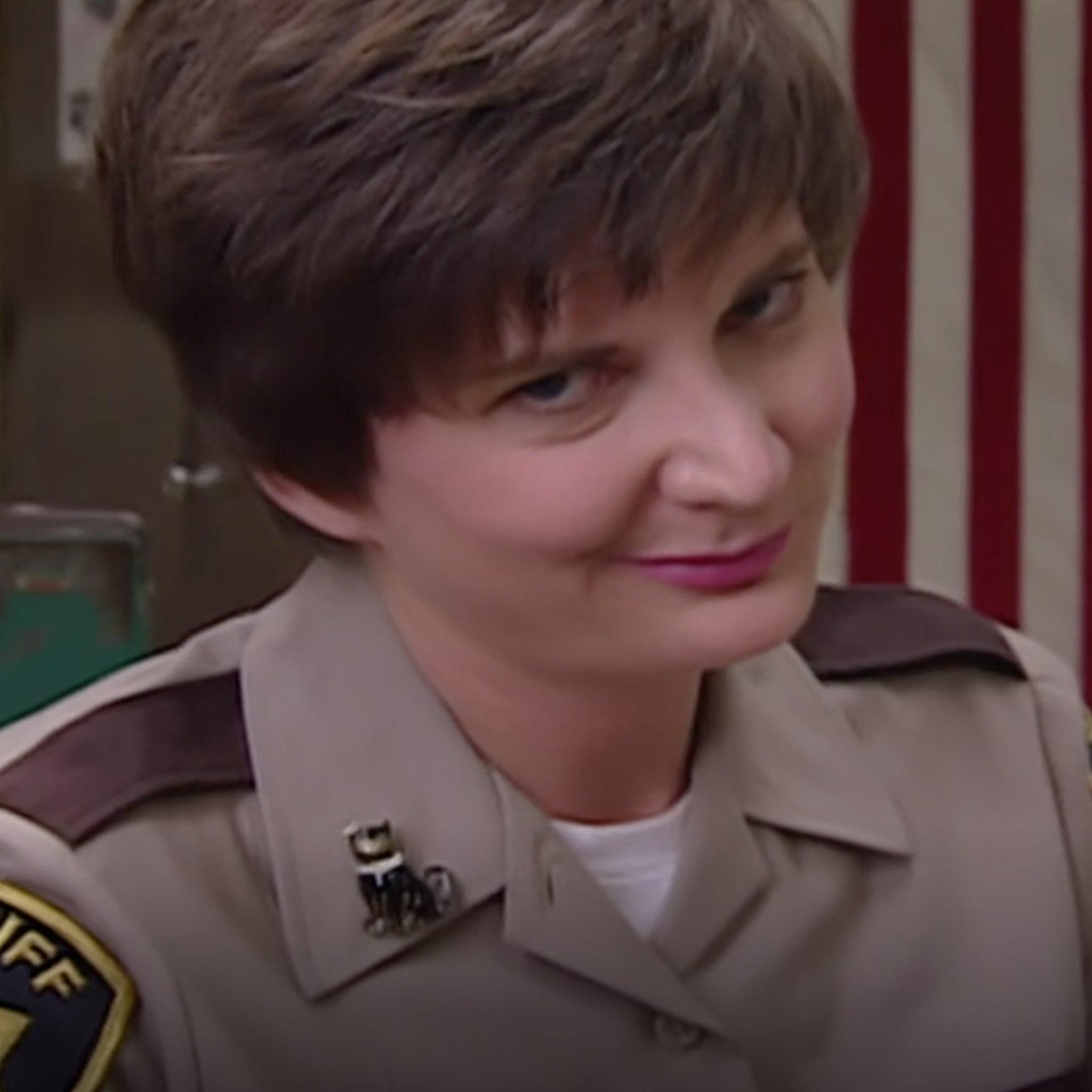 Deputy Trudy Wiegel on 'Reno 911' 'Memba Her?!