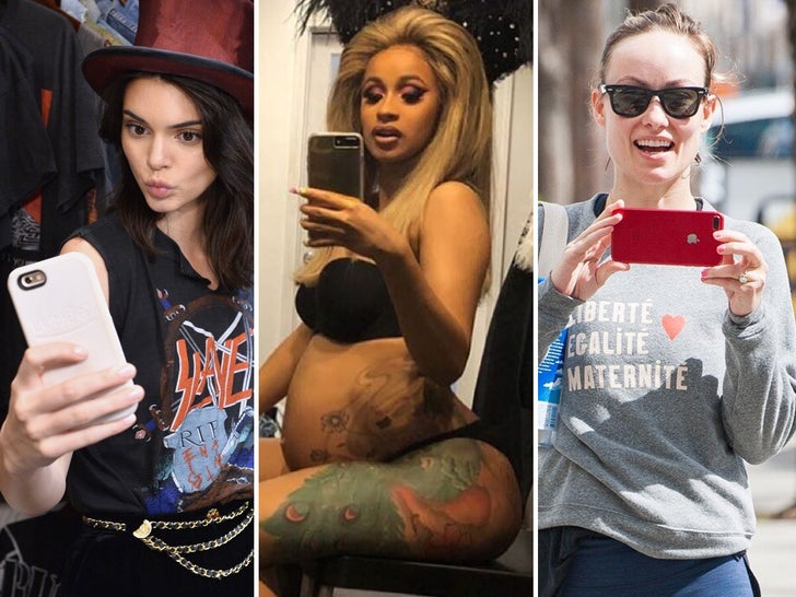 Stars with iPhones!