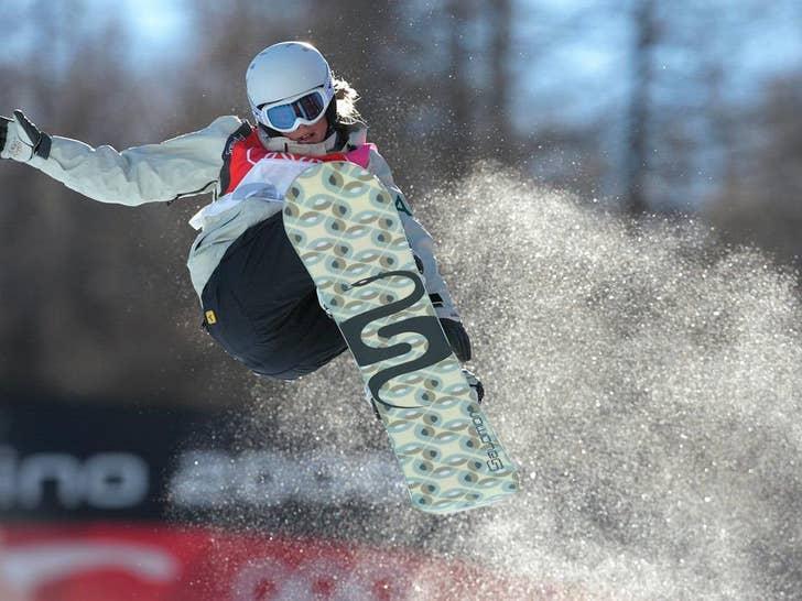 Torah Bright's Snowboarding Shots
