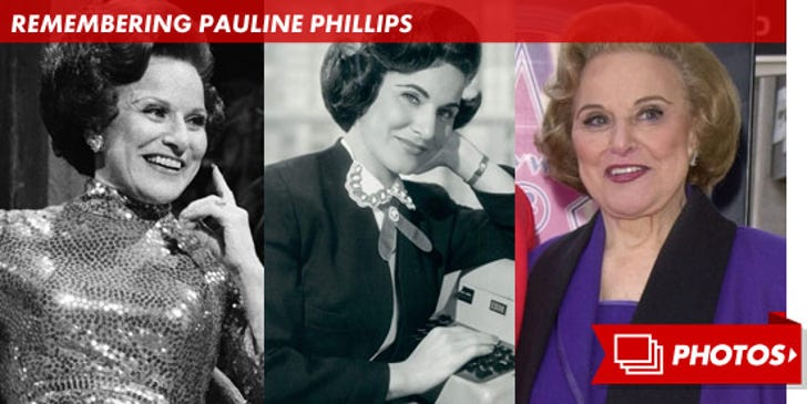 Remembering Pauline Phillips