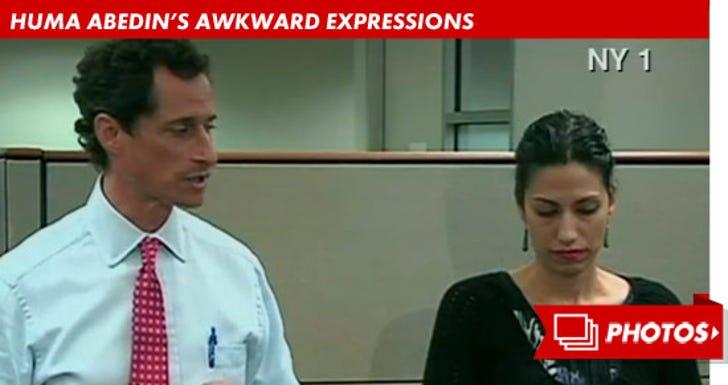 Huma Abedin's Awkward Expressions