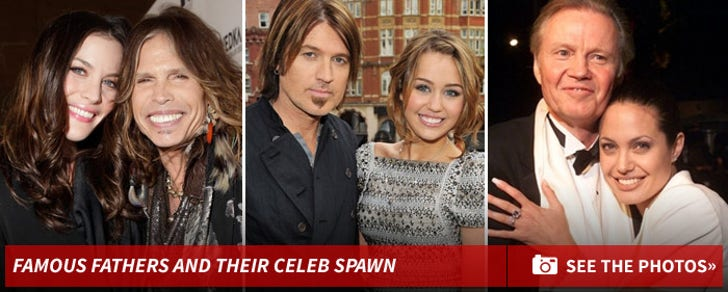 Famous Fathers and their Celebrity Spawn!