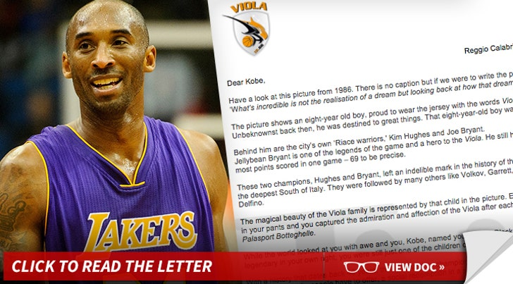 buy online aba9f e78d8 Kobe Bryant: Gets Offer From Dad's Italian Team ... In ...