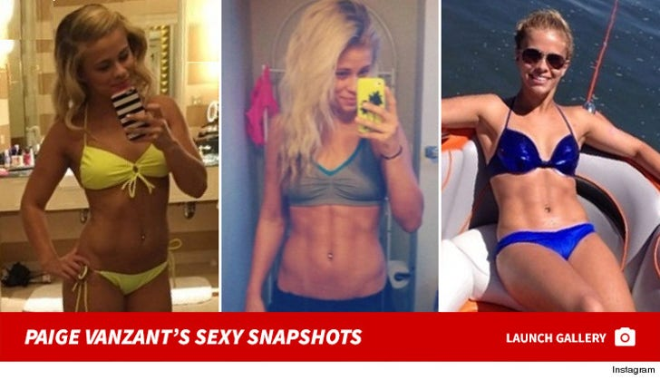 Paige VanZant's Hot Shots