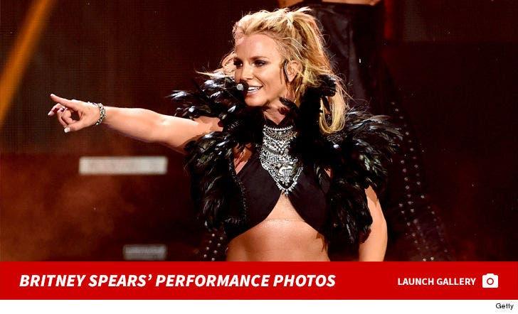 Britney Spears' Vegas Performance Photos