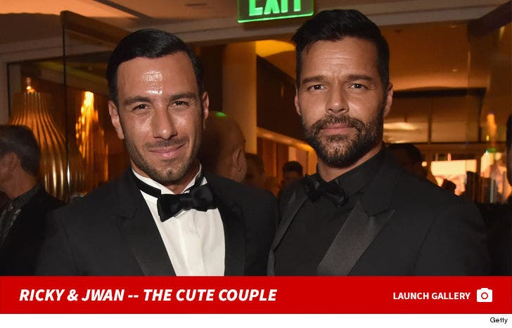 Ricky Martin and Jwan Yosef -- The Cute Couple