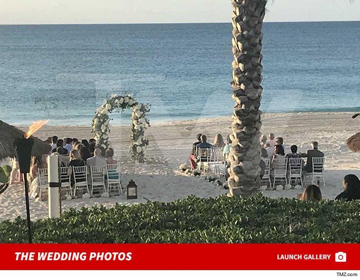 Danielle Staub Marries Fiance Marty Caffrey on Bohemian Beach in the Bahamas at the Luna Beach Club