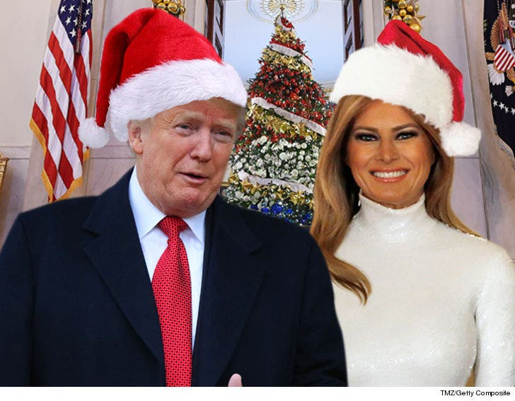 Trump Christmas.President Trump Supporters Shamed Into Signing First Family