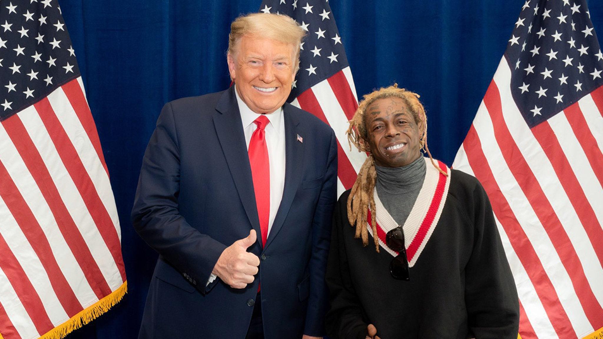 Lil Wayne Endorses President Trump, Praises Platinum Plan