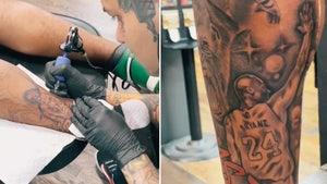 NFL's P.J. Locke Gets Kobe Bryant Tribute Tattoo, Mamba Mentality!
