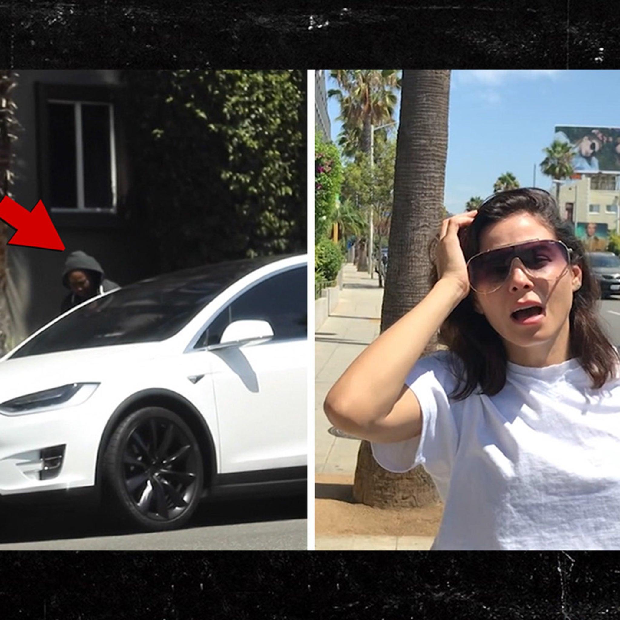 Jenna Dewan's Purse Stolen During On Camera Smash and Grab
