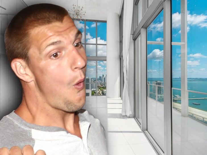 Rob Gronkowski's New Miami Condo