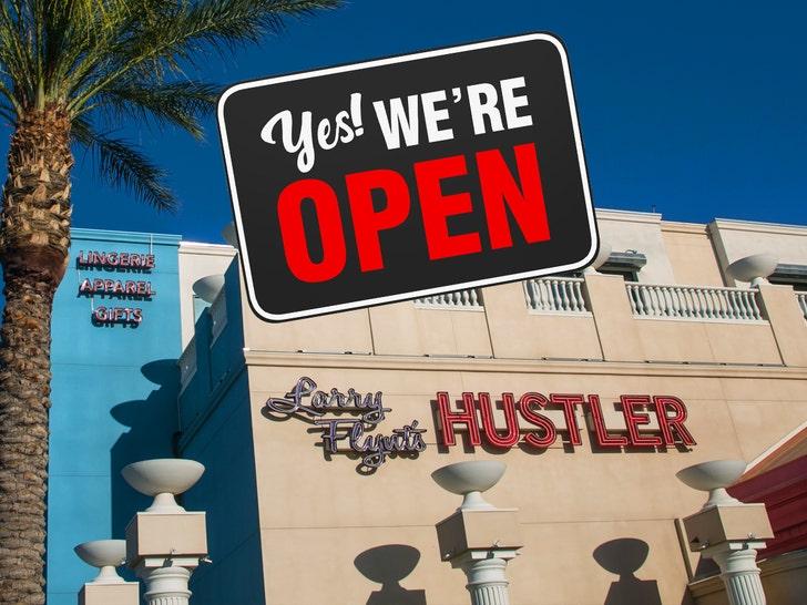 Larry Flynt's Hustler Club Providing Free Meals During Vegas Shutdown - EpicNews
