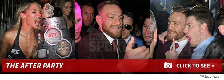 Conor McGregor's Win - The After Party