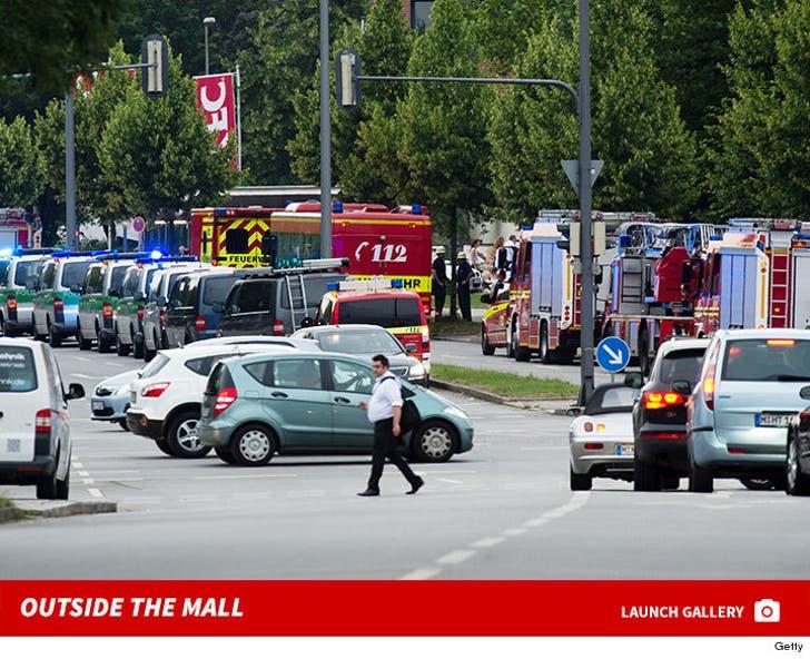 Outside the Munich Mall Shooting