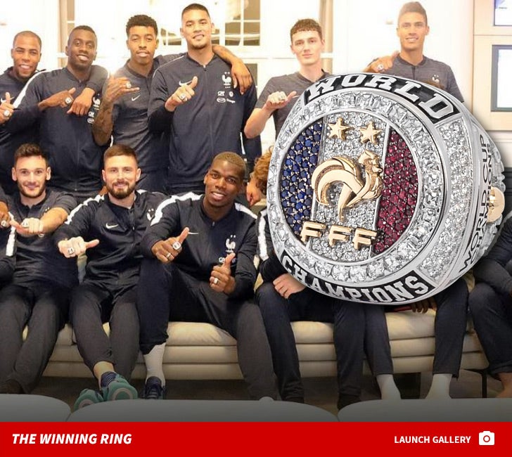 French World Cup Team -- The Winning Ring