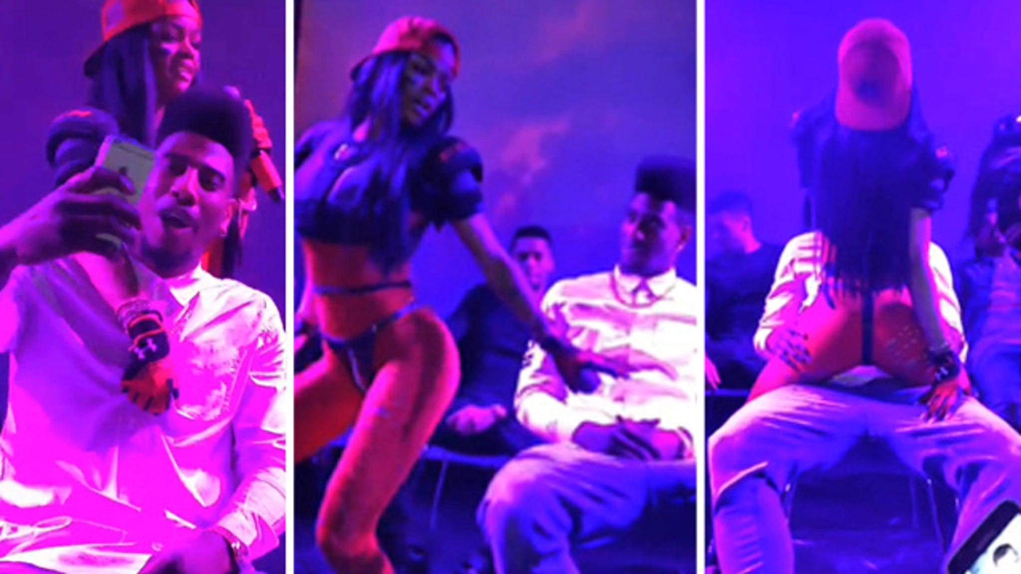 Erotic lap dance