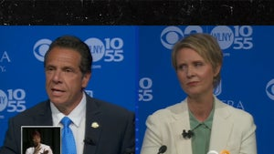 Cynthia Nixon and NY Governor Andrew Cuomo Get Intense During Debate