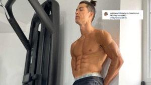 Cristiano Ronaldo Posts Sexy Quarantine Thirst Trap Pic
