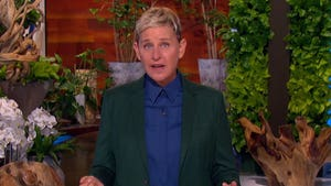 Ellen DeGeneres Gives Emotional Monologue, Talks Show's End