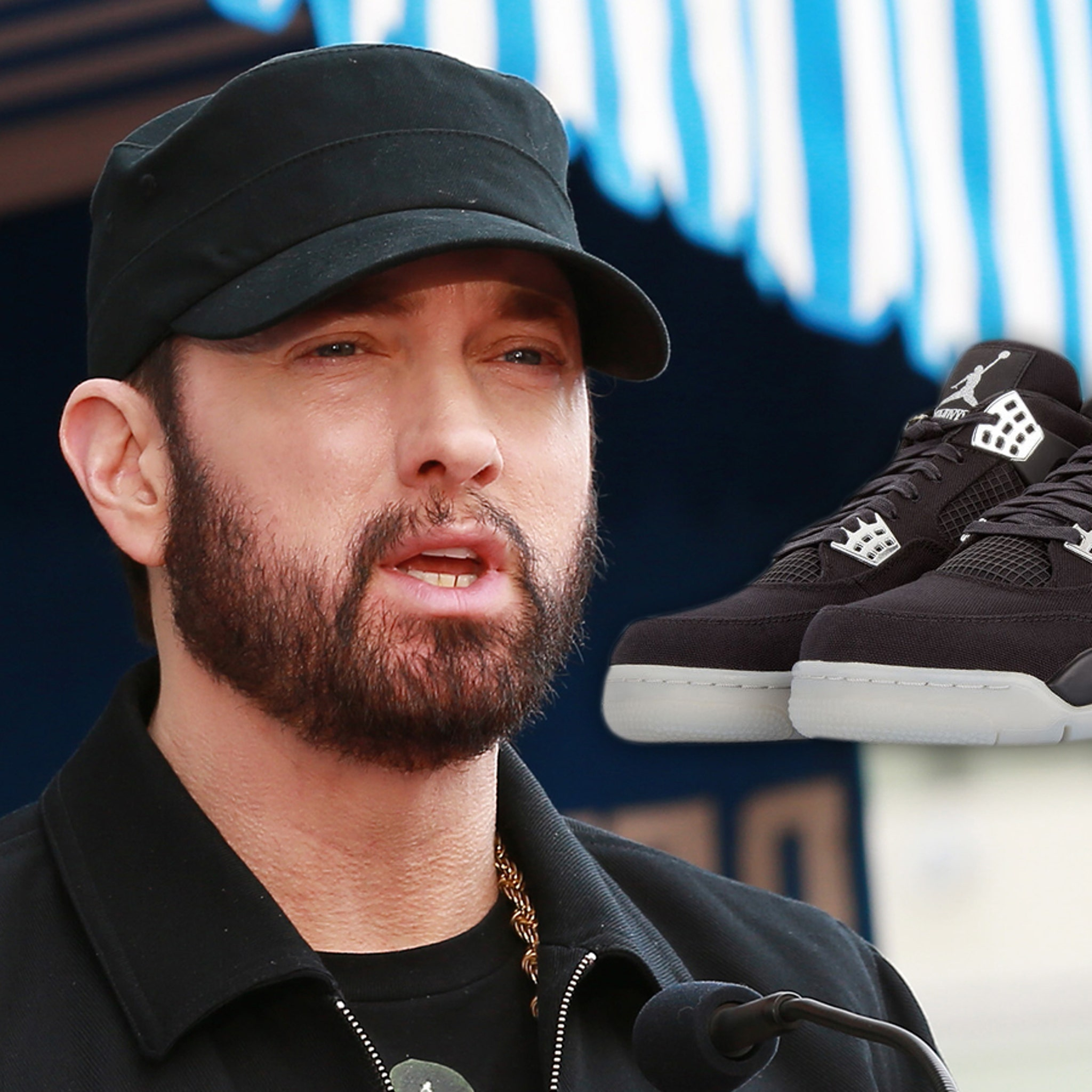 Eminem Donates $20k Ultra-Rare Jordan 4