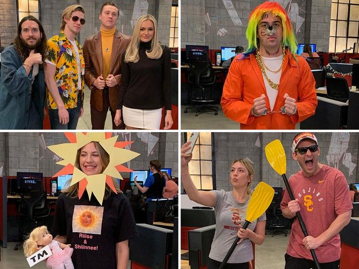 TMZ Staff Halloween Costume 2019