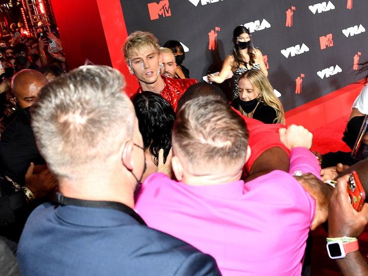 2021 MTV VMAs -- Behind The Scenes
