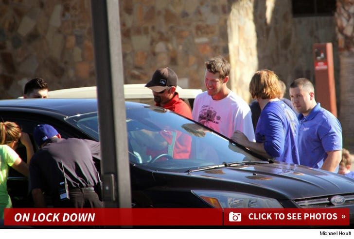 Clayton Kershaw's Car Keys -- Locked Up