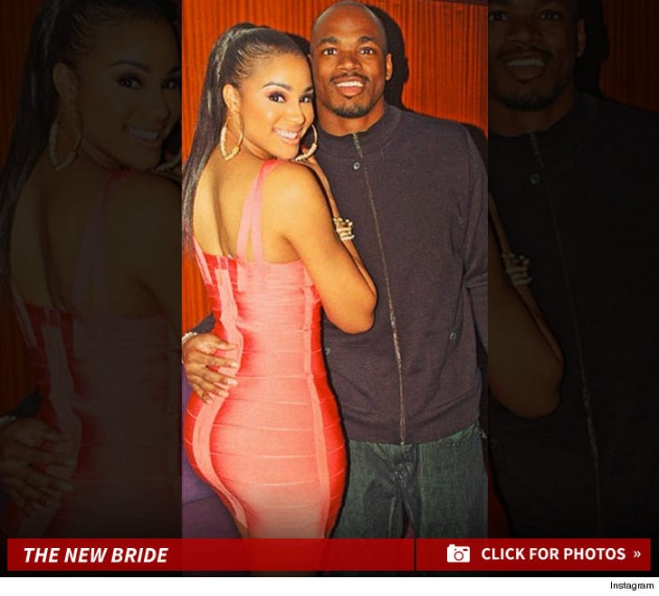 Adrian Peterson's Sexy Wife Ashley Peterson