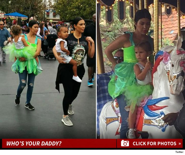 Kourtney Kardashian -- Solo Parenting For Penelope's Birthday
