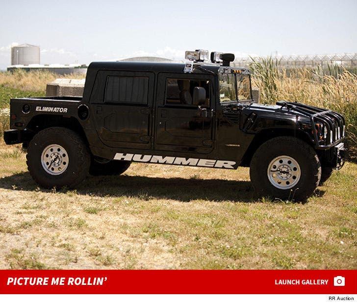 Tupac's Hummer