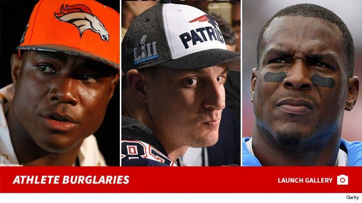 Athlete Burglaries