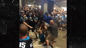 Carolina Panthers Fans Create Stadium Fight Club During Rain Delay