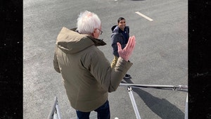 Bernie Sanders Boards the Wrong Private Jet, Campaign Brain Fart