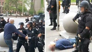 Buffalo Protester Pushed by Cops Has Fractured Skull, Can't Walk
