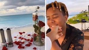 Naomi Osaka And Rapper BF Cordae Enjoy Romantic Dinner On Beach For Birthday