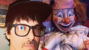 'Poltergeist' Clown Heading to Zak Bagans' Bedroom, Haunted Museum