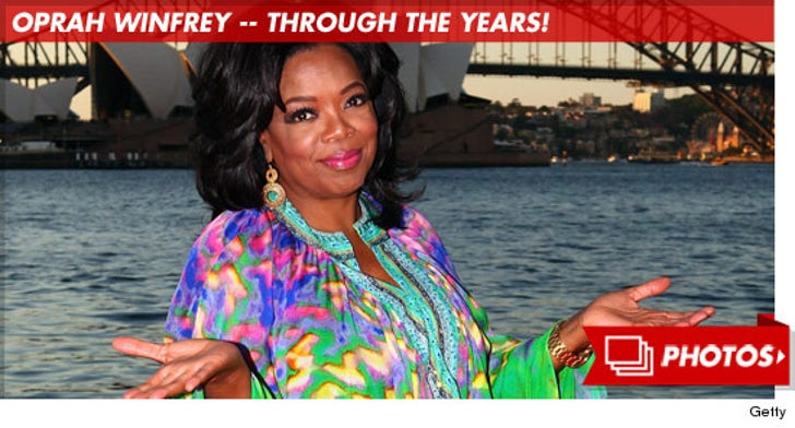 Oprah Winfrey -- Through the Years