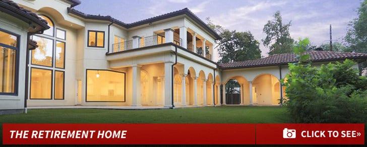 James Farrior's New Home
