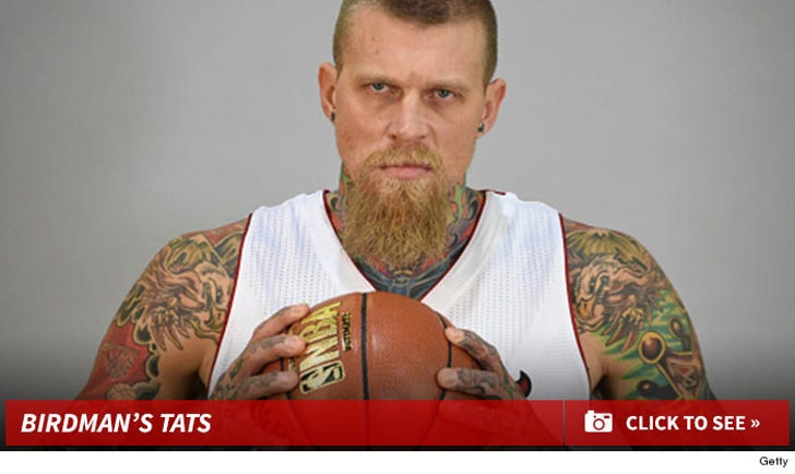 "Chris ""Birdman"" Anderson's Tattoos"
