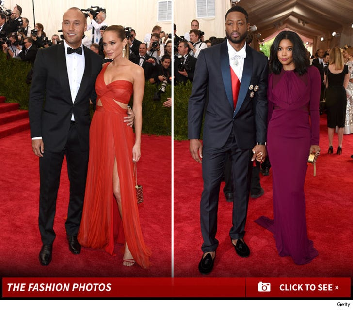 Athletes at the Met Gala