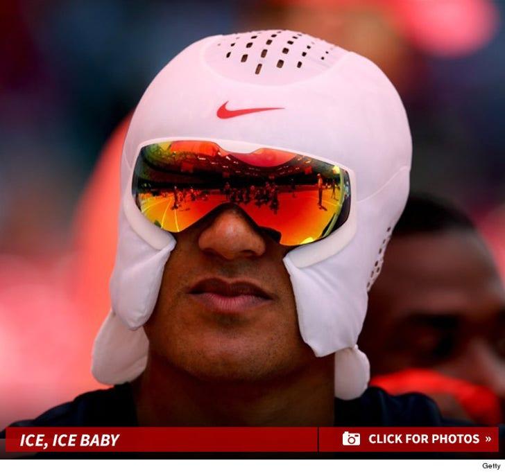 Ashton Eaton's Nike Ice Hat