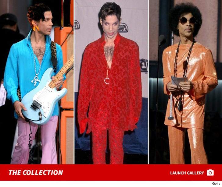 Prince's Coolest Looks