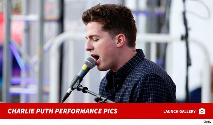Charlie Puth Performance Pics