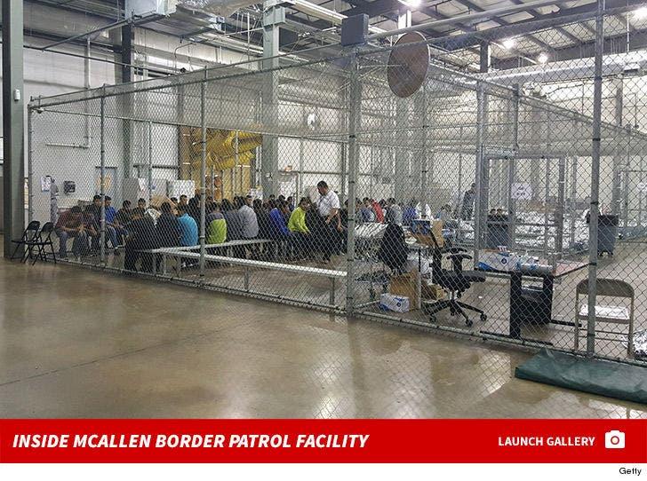 Inside McAllen Border Patrol Facility
