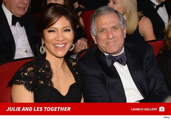 Julie Chen and Les Moonves Together