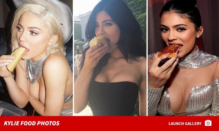 Kylie Jenner Food Photos