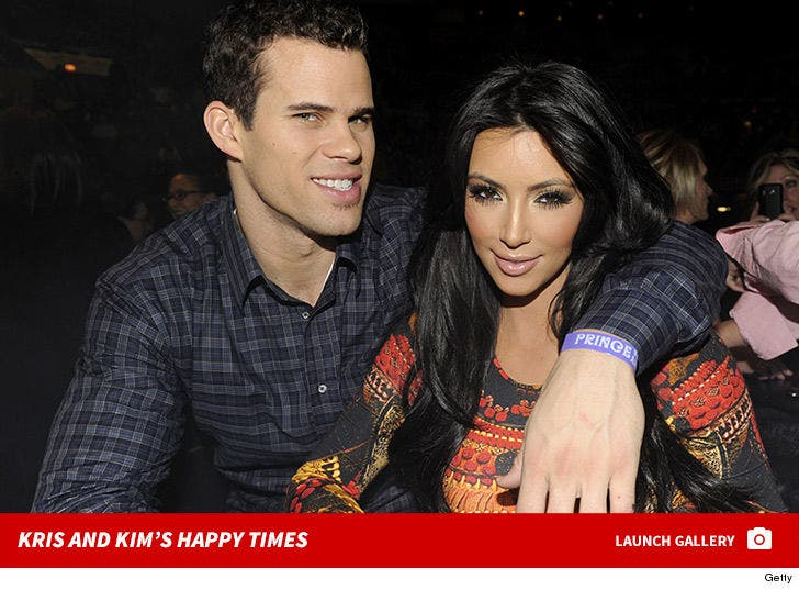 Kim Kardashian and Kris Humphries -- Happy Times