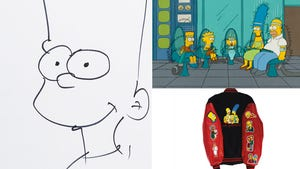 Sam Simon -- 'Simpsons' Treasure Trove Up for Auction (PHOTOS)