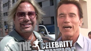 Motley Crue's Vince Neil -- I'm With Ahnald! First to Join New 'Celebrity Apprentice'